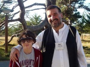 Rabbi Marc Soloway and Isaac Bates-Vinueza