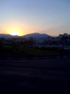 eilat sunrise