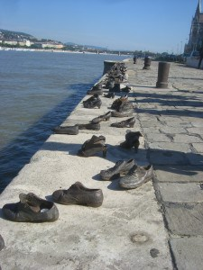 The Holocaust Shoe Memorial