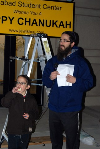 Rabbi Yisroel Wilhelm and son