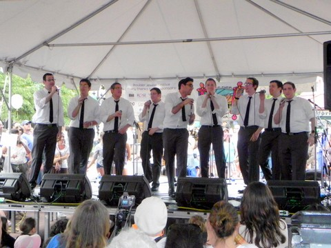 The Maccabeats rock the 2011 Boulder Jewish Festival