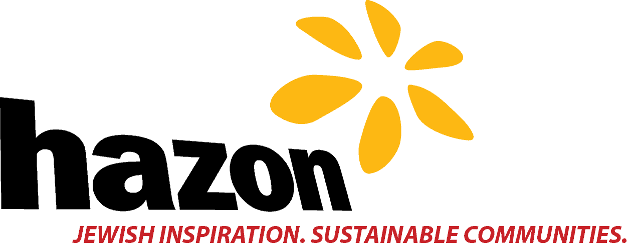 Hazon Logo_WithSlogan_HiRes_TransBG_Color