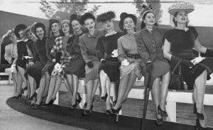 Gimbels Fashion Show Models