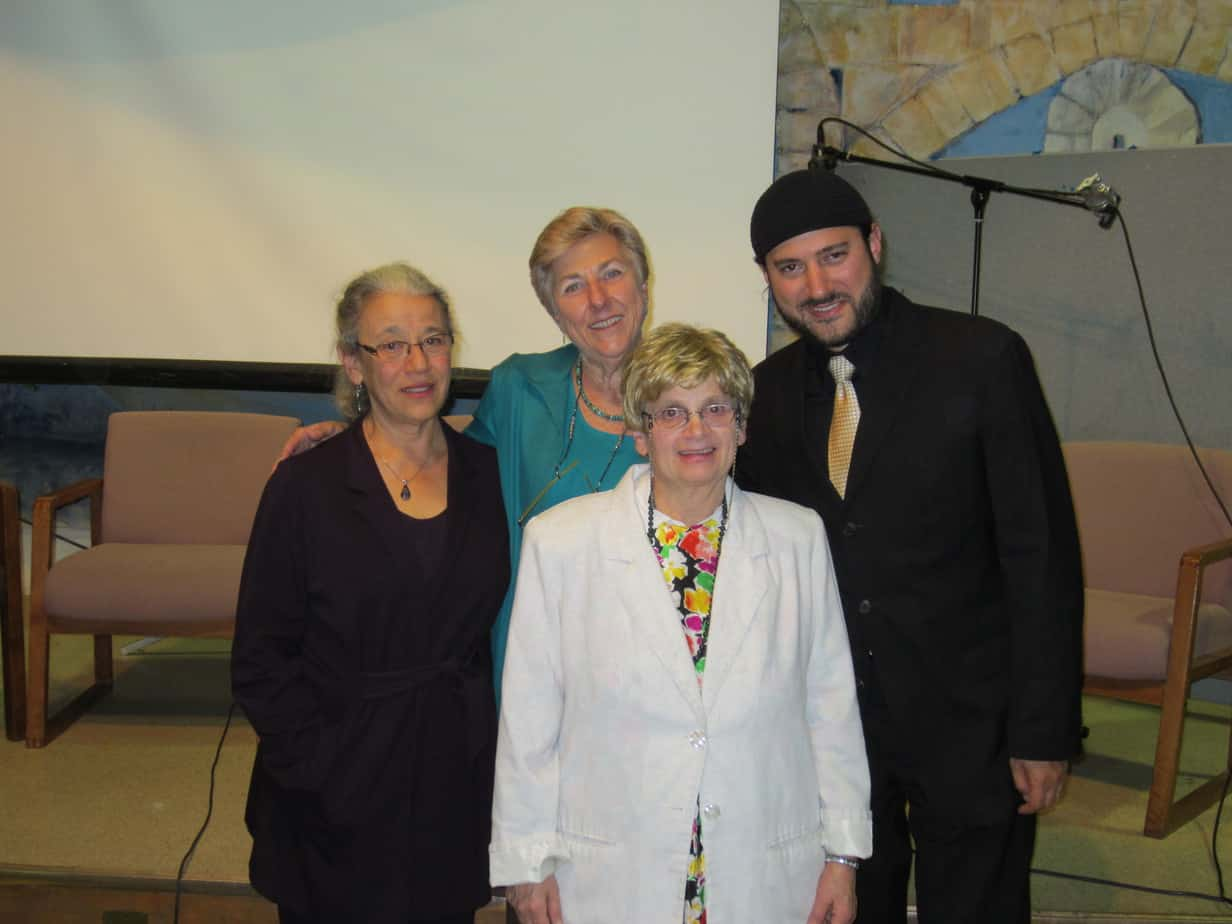 Miraim Pollack, Kathryn Bernheimer, Yehudis Fishman, Eliyahu Ungar-Sargon