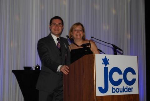 Reflection's host and hostess, Jonathan Lev and Susan Rona