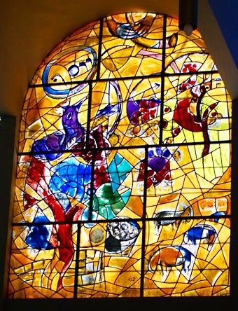 chagall-stained-glass-windows-hadassah-hospital-israel1a ... Chagall Hadassah Windows