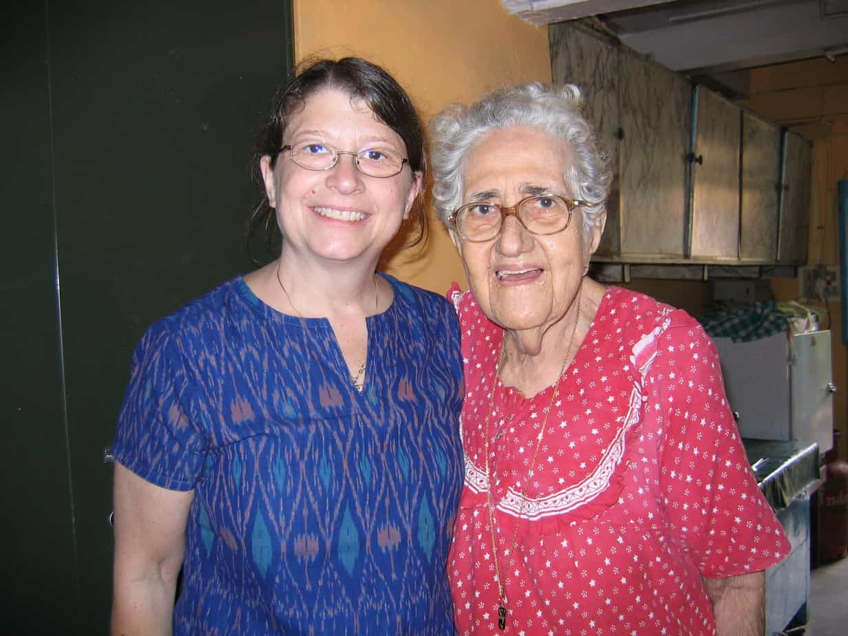 Visiting with Sarah Cohen, one of the few Jews remaining in Jew Town.