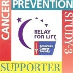 Cancer Prevention Study Sticker