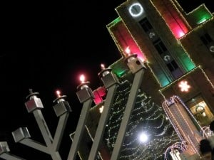 Menorah and Court House