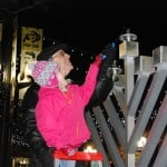 Boulder Lights the Menorah