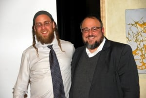 The Two Aishes:  Rabbi Gavriel Goldfeder of Boulder Aish Kodesh and Rabbi Yaakov Meyer of Denver Aish Ahavas Yisroel
