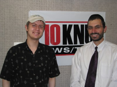 Host Maxwell Rotbart and Rabbi Gady Levy