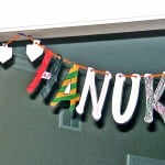 Create this fun Happy Hanukkah Banner