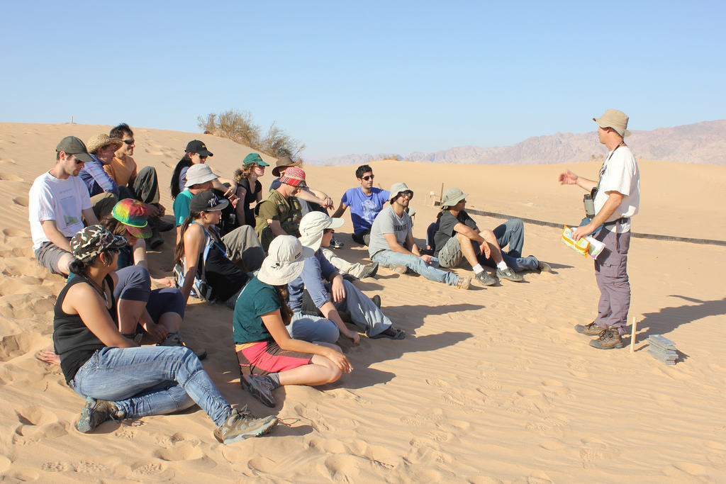 Arava Institute students