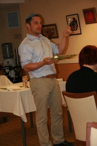 Rabbi Rose leads his last Boulder JFS celebration with the Seder at Boulder Meridian. He will be missed!
