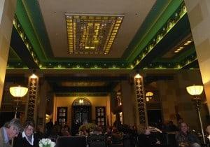 Lobby of the King David Hotel