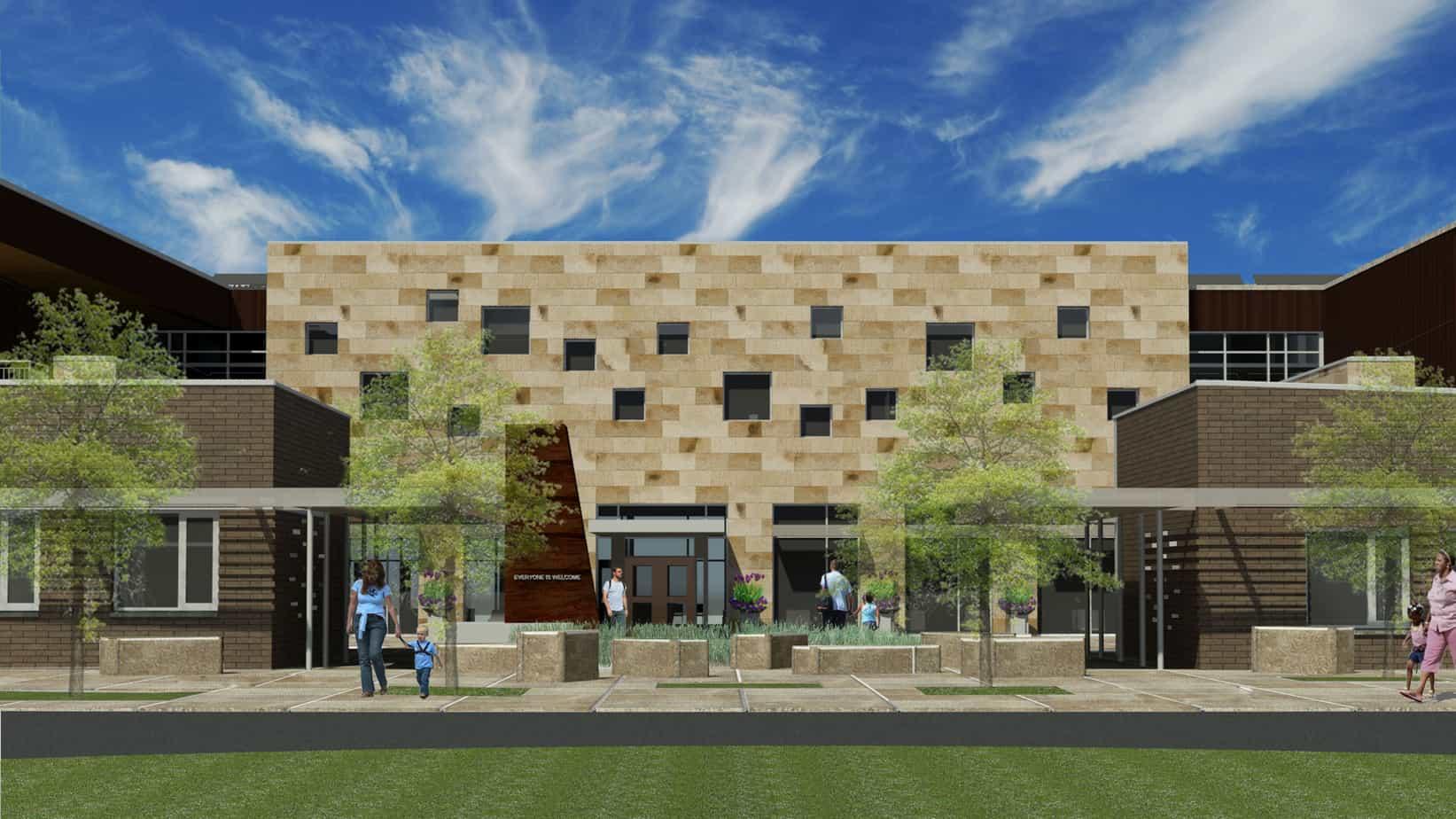 Boulder JCC South Entrance