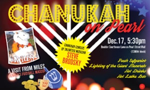 Chanukah on Pearl