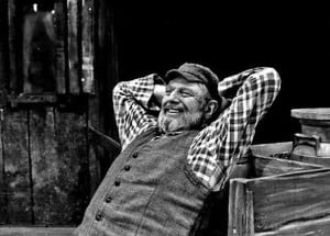 Theodore Bikel In the Shoes