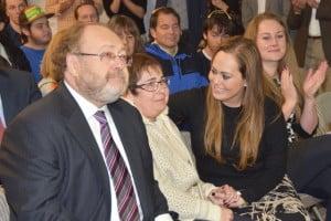 George, Miriam and Nicole Schaeffer