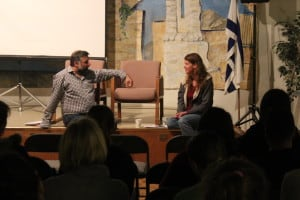 Rabbi Marc Soloway and Amy Tisdale