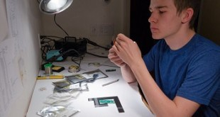 17-year-old Kai Kloeper, from Boulder, CO, invents biometric access firearm.