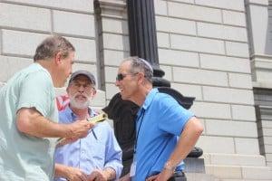 Craig Silverman, Dr Neil Dubro, and Frank Gaffney
