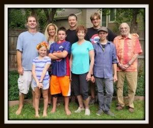 Litt family pic for tribute