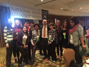 Colorado NYLM delegates with ADL National Director Jonathan Greenblatt