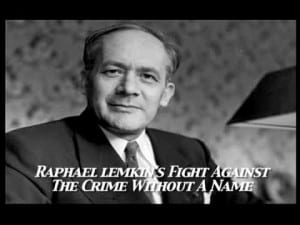 Raaphael Lemkin (lunch and learn)