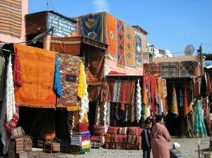 colourful-carpets-in-marrakech-morocco