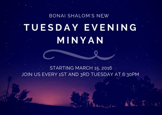 Tuesday Minyan