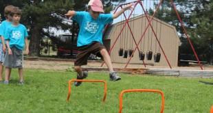 sports boy jumping