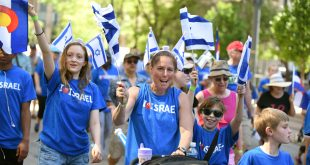 Walk for Israel Draws Thousands to Downtown Denver