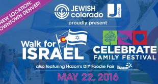 JEWISHcolorado to Host 2016 Walk for Israel in Downtown Denver