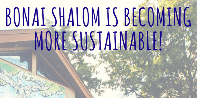Bonai Shalom Receives Hazon Seal of Sustainability
