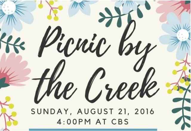 Picnic by the CreekSmall