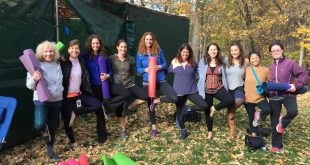 Yoga in the Sukkah