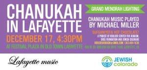 Chanukah in Lafayette