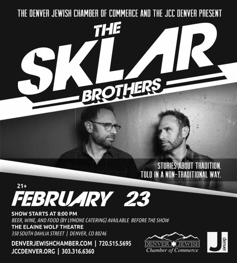 Sklar Brothers @ Denver JCC