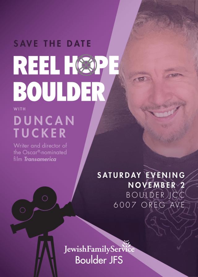 Reel Hope Boulder save the date