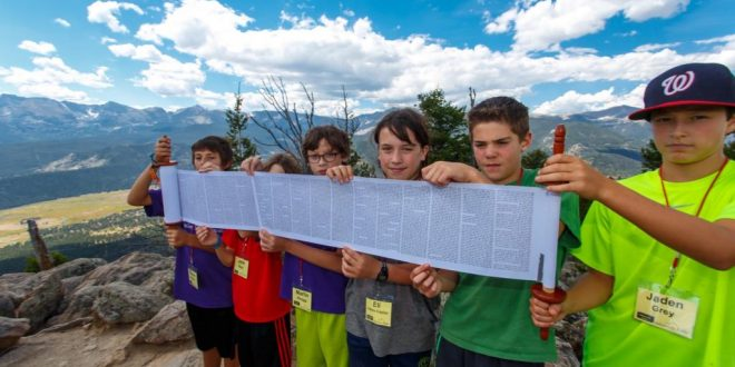 Bar Mitzvah Class Climbs Deer Mountain