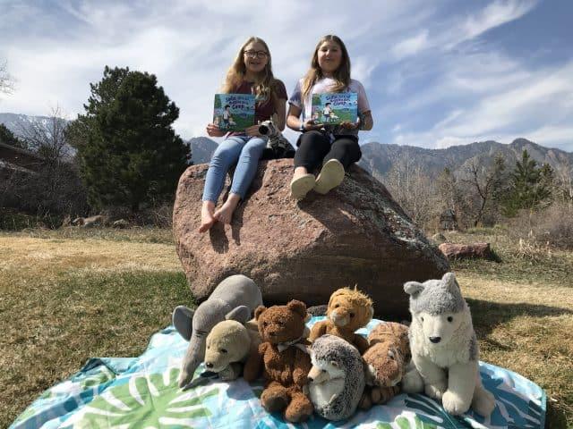 Sadie and Ori Reading Sadie Ori and Nuggles go to camp