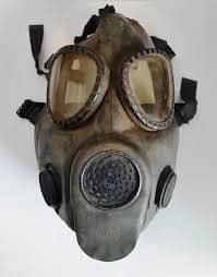 Vintage US M-17 Military Gas Mask Vietnam Era by SwankyDameVintage ...