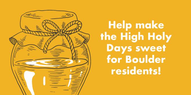 Boulder JFS High Holy Day Donation Drive