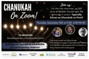 Chanukah on Zoom!