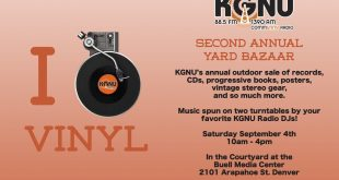 Vintage Vinyl and Cherished CDs Are Yours at KGNU's Annual Yard Bazaar