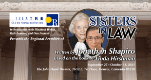 """Theatre Or Presents Free Webinar Series in Conjunction with Colorado Premiere of """"Sisters In Law"""""""