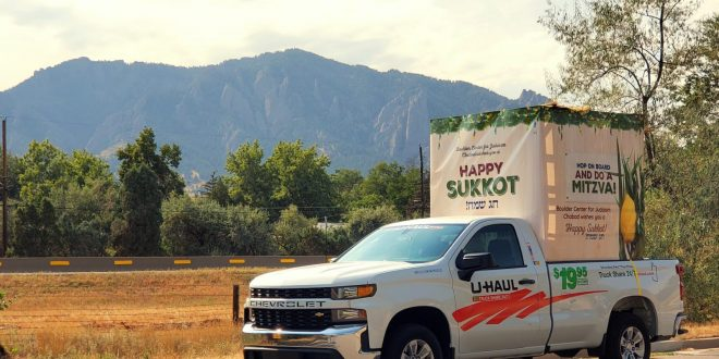 The Mobile Sukkah Comes to Boulder County