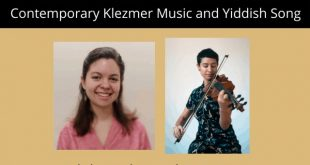 Monday: Webinar Concert on Contemporary Klezmer Music and Yiddish Song